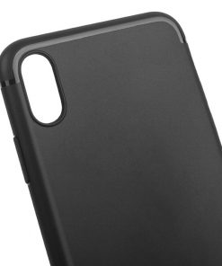 Coque mat noir iphone 1